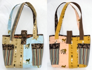 A pair of BFF Handbags