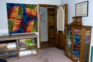Sewing Room Facing Towards Door