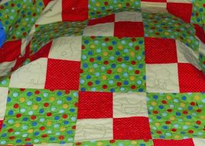 Comfort Quilt Progress