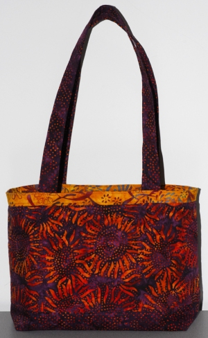 Purple Sunflower Purse