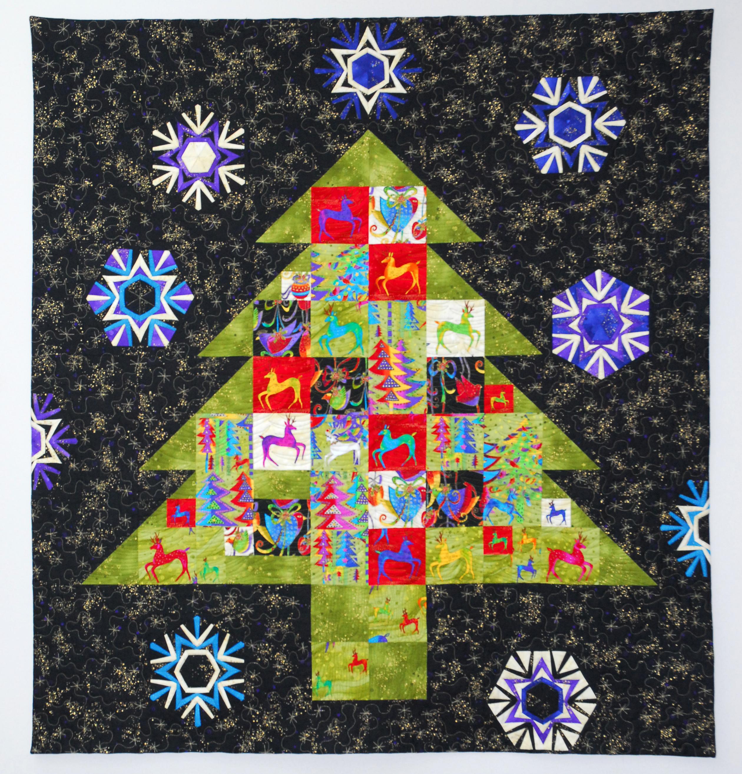 Wall Hung Christmas Tree