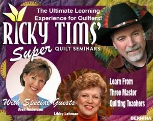 Ricky Tims Super Quilt Seminar   Bird Brains & Dog Tales : ricky tims super quilt seminar - Adamdwight.com