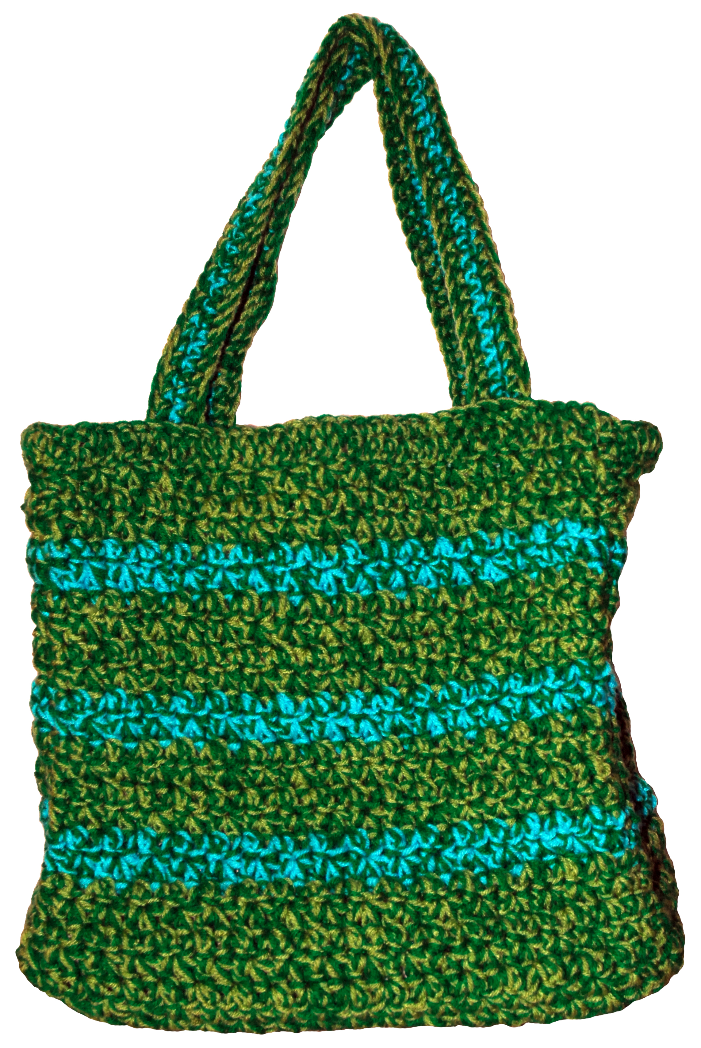 Crochet Bags And Totes : crochet tote - exterior