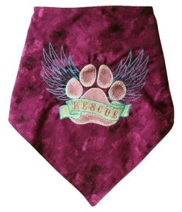 Millie - pink rescue bandana