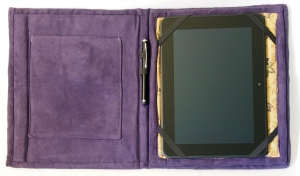 Kindle Cover - open flat