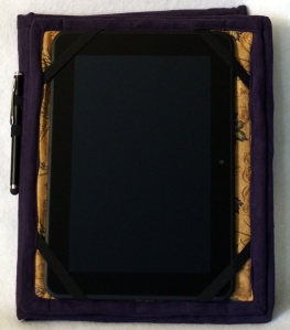 Kindle Cover - open - folded back