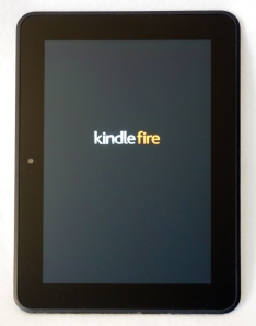Kindle Fire HD 4G - booting up
