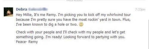 Remys facebook response