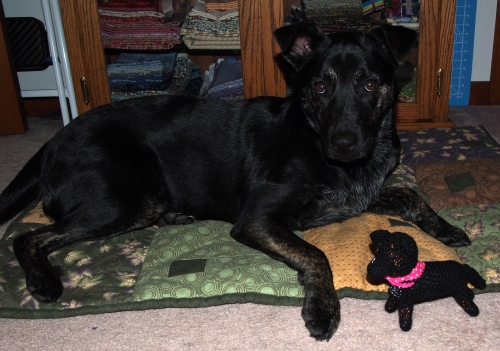 Millie with Mini Millie - innocent look