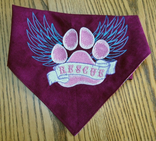 Rescue bandanna for Bella