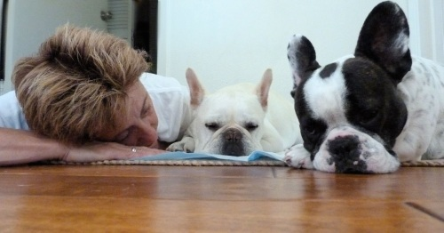 Andrea (Benny's mom), Benny and Lily