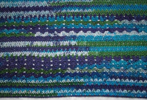 Summer Crochet Cardigan - Detail of Stitch Pattern