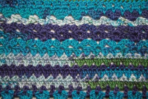 Summer Crochet Cardigan - Detail