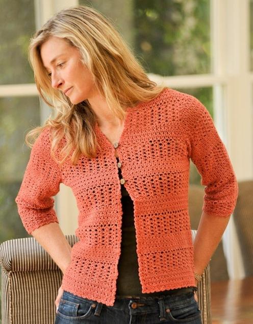 Summer Crochet Cardigan
