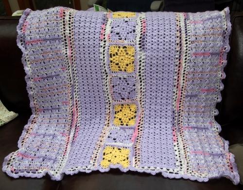 Baby Girl Smith Blanket