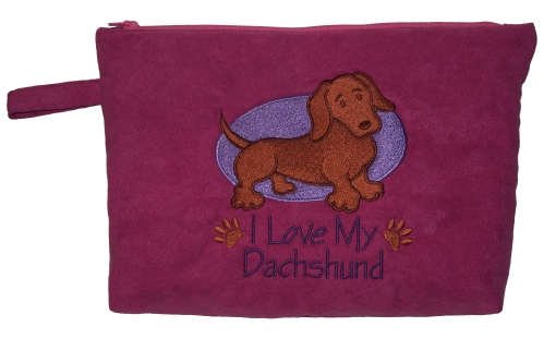 I Love My Dachshund - clutch