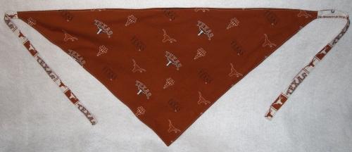 Texas bandana - with border - back side