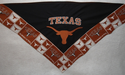 Texas bandana - with border - front detail