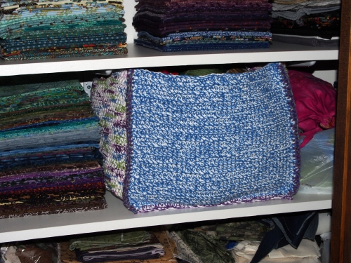 Large crochet box - in stash closet