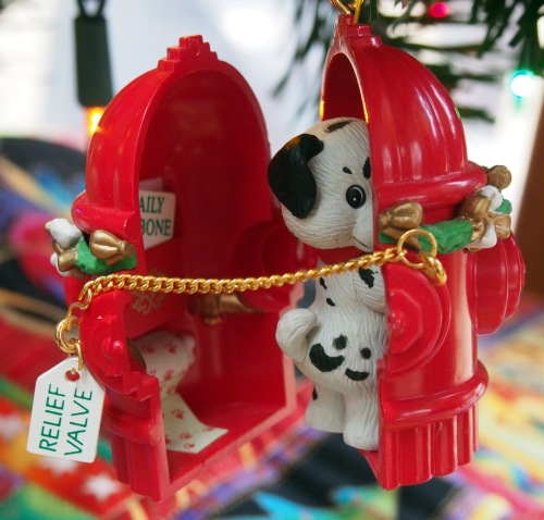 Whimsical Dog Ornament