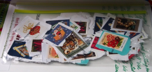 Saving our Stamps for Miss Lori