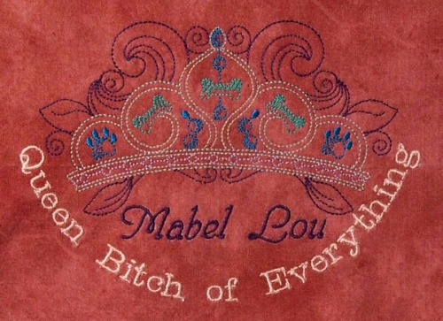 """""""Queen Bitch of Everything"""" really is a term of endearment ;-)"""