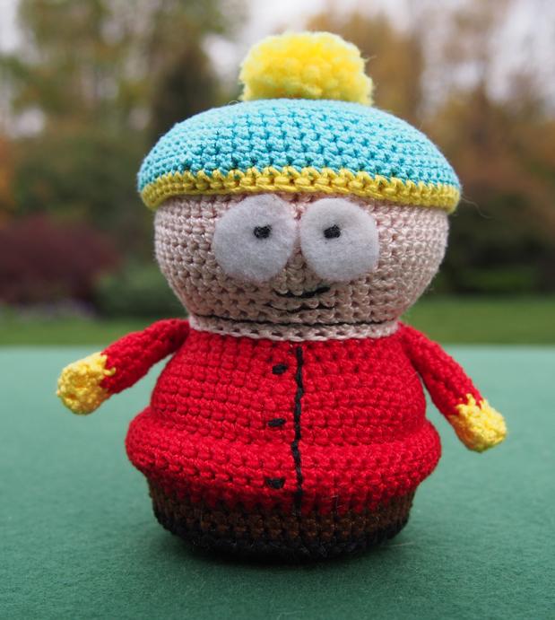 Amigurumi Cartman : Stan Marsh Bird Brains & Dog Tales