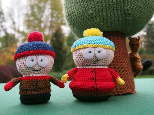 Hi! I'm Stan and this is Eric. Hey Stan I don't think we are in South Park any more.