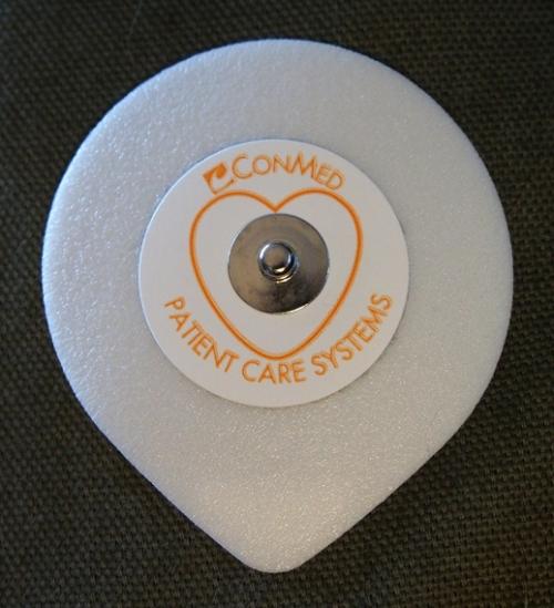 ECG monitor pad