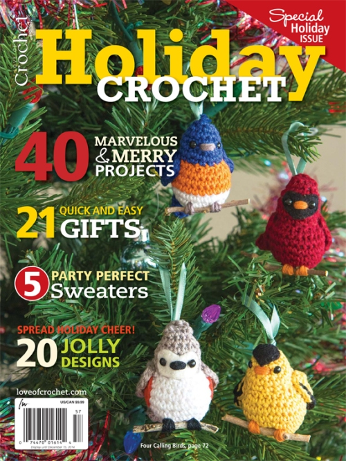 Holiday Crochet - Love of Crochet - cover