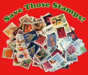 Save Those Stamps