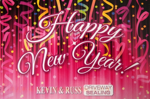 Exhibit A - New Year's Card from Driveway Sealer?