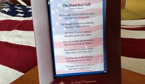 2015 - 0126 - Chuck Welch - Flag Poem at Leo Center - sm