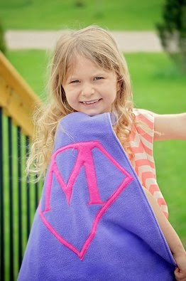 Macey the Super Girl!