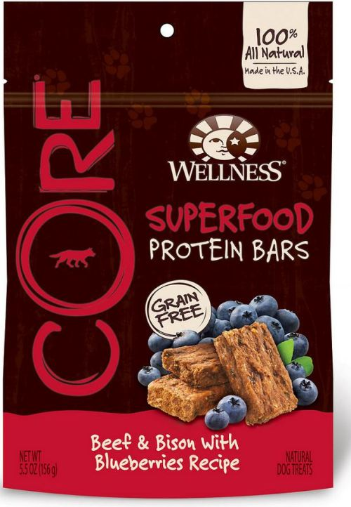 Wellness Core Superfood Protien Bars - bag - chewy