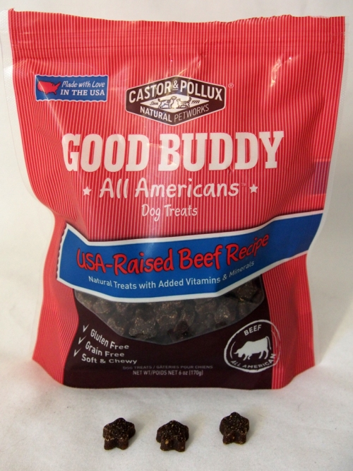 Castor & Pollux Good Buddy All Americans Beef Recipe Grain-Free Dog Treats