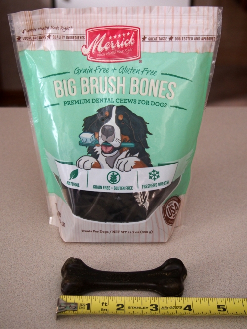 Merrick Big Brush Bones Grain-Free Dental Chews