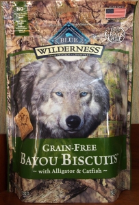 Blue Wilderness Bayou Biscuits bag
