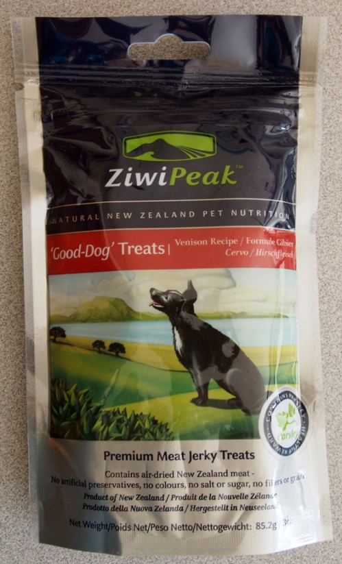 Ziwi Peak Good-Dog Treats bag
