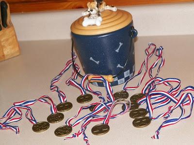 Sarge Gold Medals