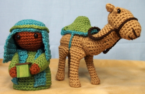 Green King and camel