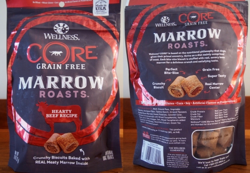 Wellness Core Marrow Roasts - bag - front - back