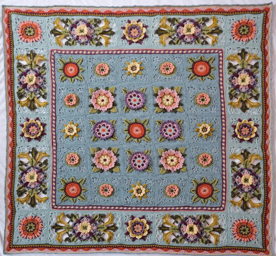 6086 - Fruit Garden Afghan - Love is Enough - lr - 2